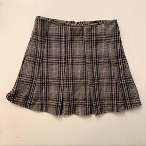 Vintage Y2K/2000s plaid high waisted miniskirt